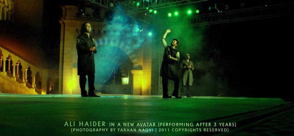 Ali Haider - PTV Awards 2011